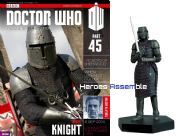 Doctor Who Figurine Collection #045 Robot Knight Eaglemoss